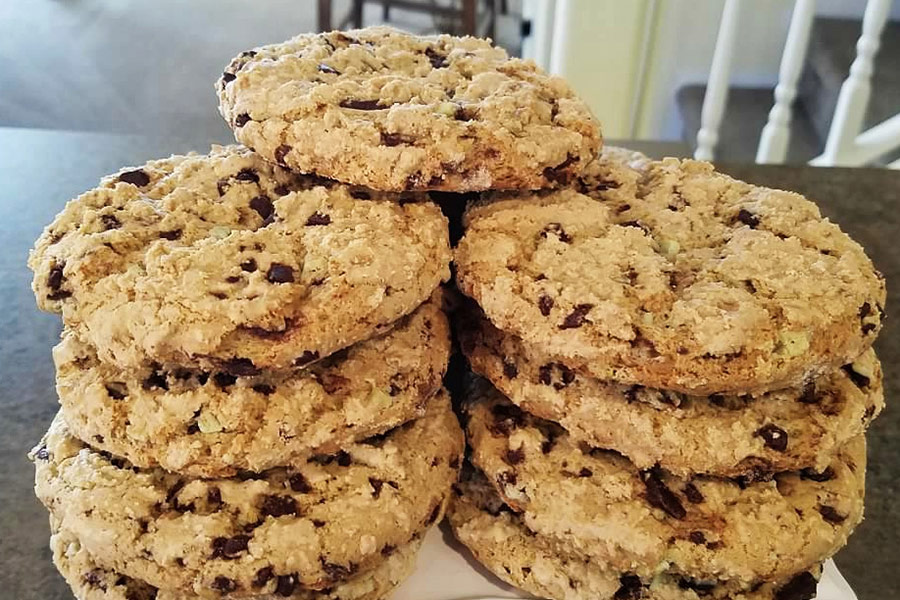 Naples Maine Breakfast cookies