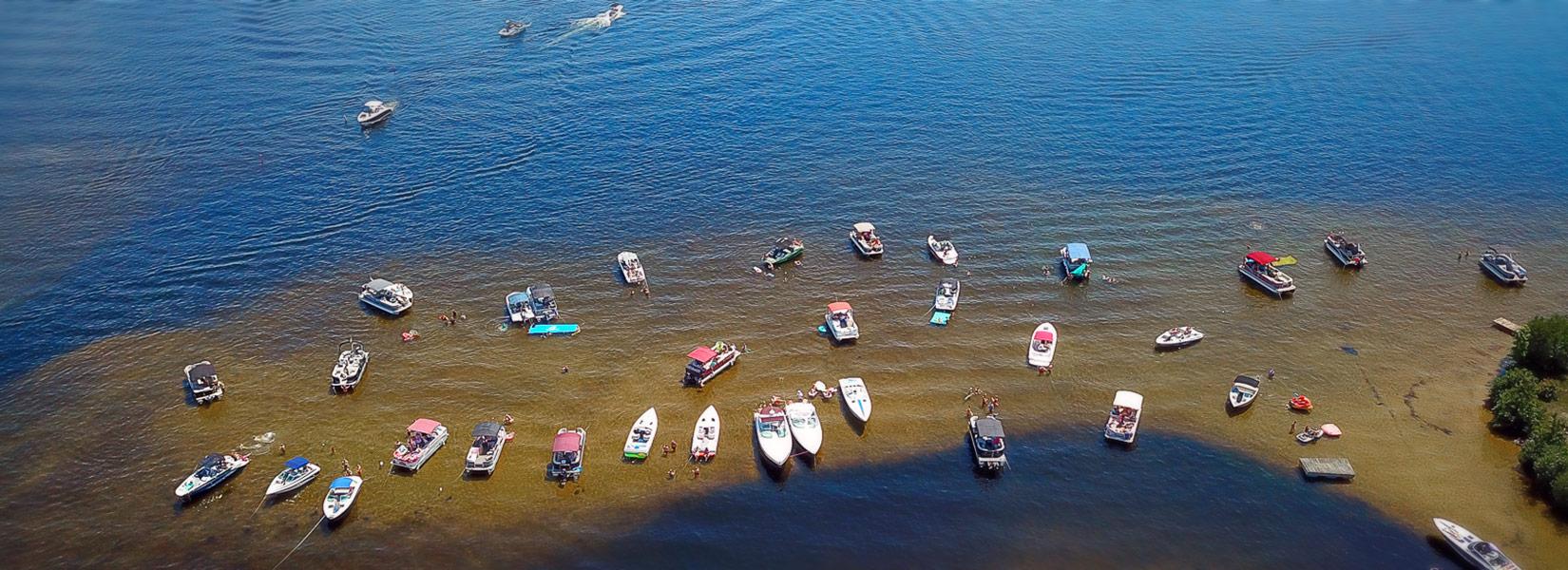 Long Lake Sandbar